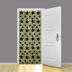 New Years Door Curtains