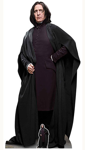 Professor Severus Snape Harry Potter Character Lifesize Cardboard Cutout 190cm Product Gallery Image