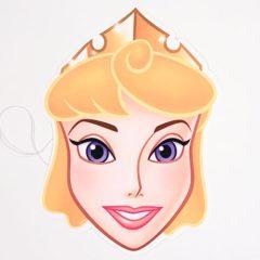 Disney Princess Sleeping Beauty Cardboard Face Mask
