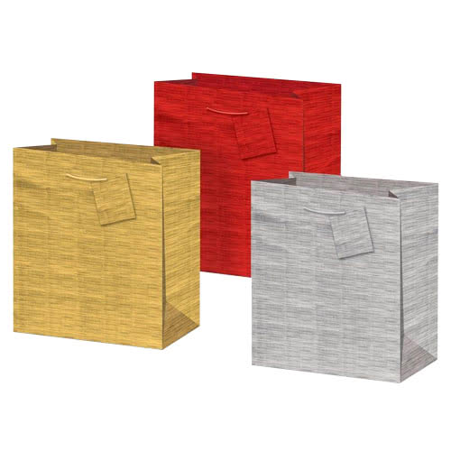 Assorted Holographic Medium Gift Bags 23cm - Pack of 3