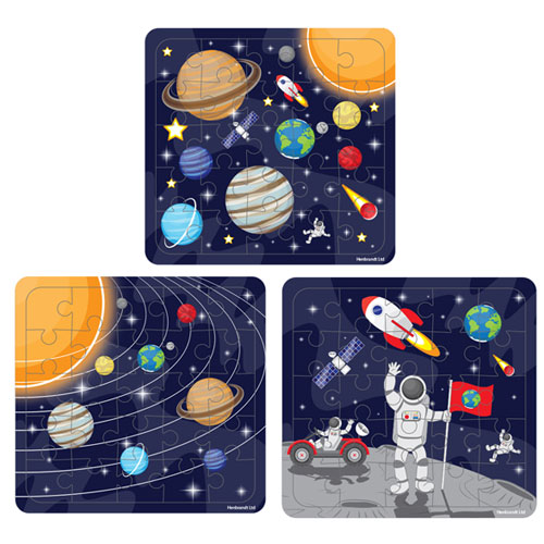 Assorted Space Jigsaw Puzzle