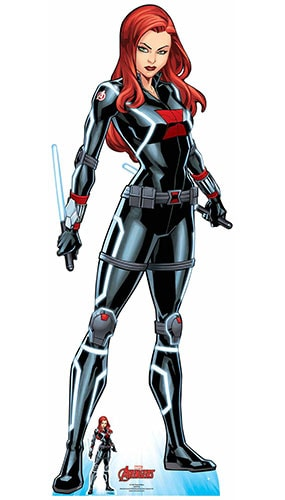 Avengers Comics Black Widow Tell Me Everything Lifesize Cardboard Cutout 165cm Product Gallery Image