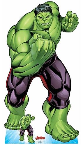 Avengers Comics Hulk Lifesize Cardboard Cutout 183cm Product Gallery Image