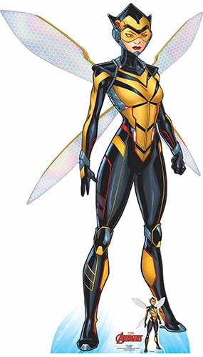 Avengers Comics Wasp Lifesize Cardboard Cutout 159cm Product Gallery Image