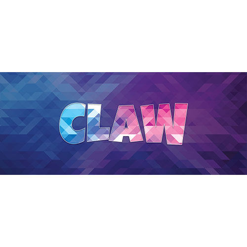 Claw Home Screen Background PVC Party Sign Decoration 60cm x 25cm