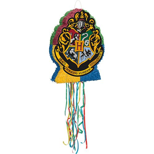Harry Potter Shaped Drum Pull String Pinata