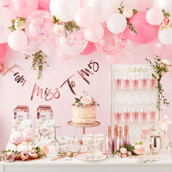 Rose Gold Party Themes