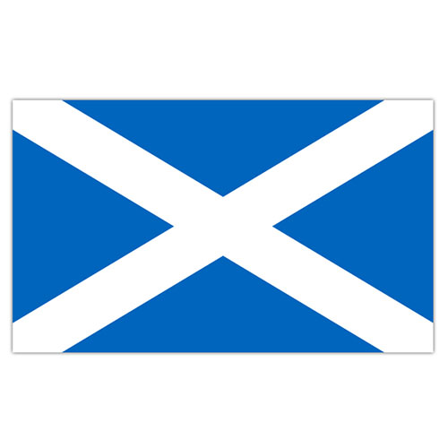 Scotland St. Andrew's Cross Flag 5 x 3 ft