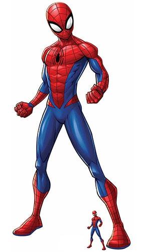 Spider-Man Spider-Verse Lifesize Cardboard Cutout 179cm