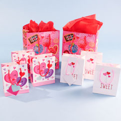 Valentine's Gift Bags & Wrap