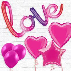 Hot Pink Balloons