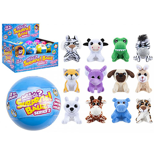Assorted Collectable Mini Pets Animal Toys In Surprize Ball Gallery Image