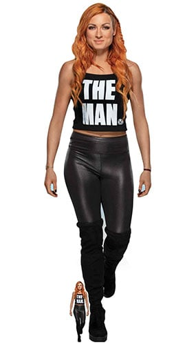 Becky Lynch The Man WWE Lifesize Cardboard Cutout 169cm Product Gallery Image