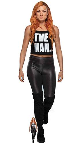 Becky Lynch The Man WWE Lifesize Cardboard Cutout 169cm