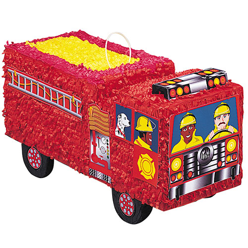 Fire Engine Standard Pinata