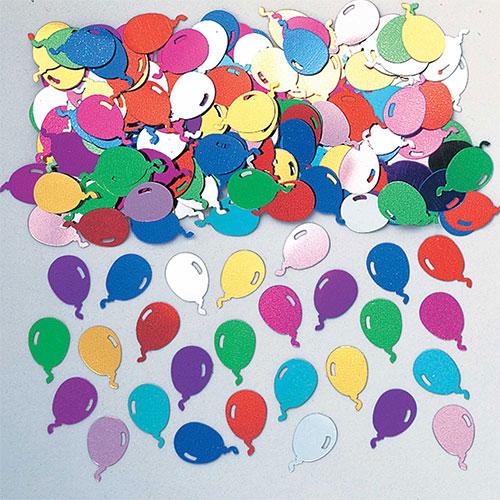 Multi Coloured Balloons Table Confetti 14 Grams
