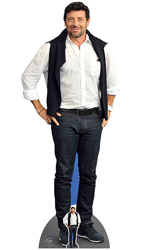 Patrick Bruel Casual Lifesize Cardboard Cutout 182cm Product Gallery Image