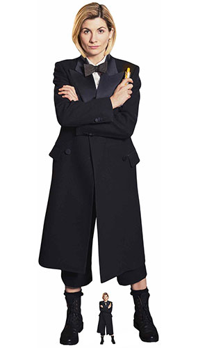 13th Doctor Who Spyfall Jodie Whittaker Suit Lifesize Cardboard Cutout 167cm Product Gallery Image
