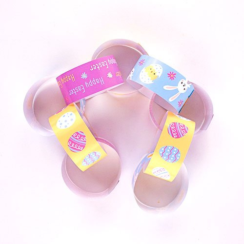 Assorted Easter Decorative Paper Chain Strips - Pack of 30 Product Gallery Image
