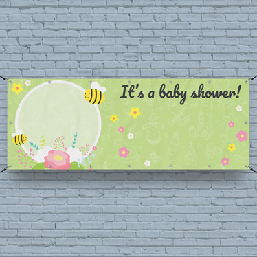 Baby Personalised Banners