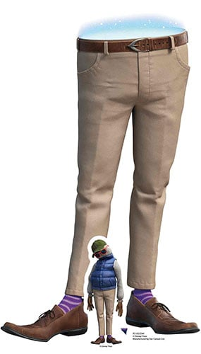 Dad Onward Star Mini Cardboard Cutout 84cm Product Gallery Image