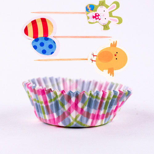 Easter Characters Baking Cupcake Kit