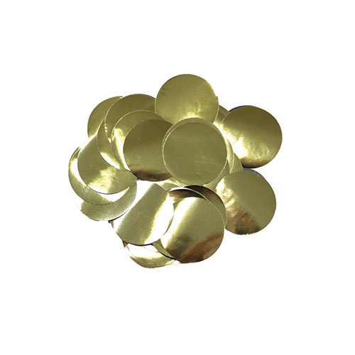Gold 10mm Round Foil Table Confetti 50g