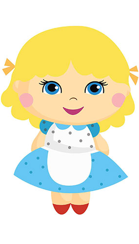Goldilocks Fairy Tales Star Mini Cardboard Cutout 94cm Product Gallery Image