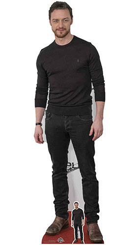 James McAvoy Lifesize Cardboard Cutout 172cm Product Gallery Image