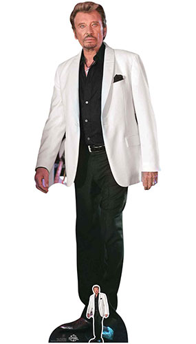 Johnny Hallyday Lifesize Cardboard Cutout 179cm Product Gallery Image