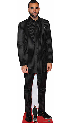 Marco Mengoni Lifesize Cardboard Cutout 189cm Product Gallery Image