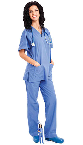 Nurse Lifesize Cardboard Cutout 176cm Product Gallery Image