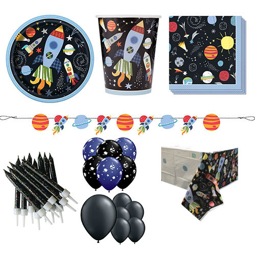 Outer Space 16 Person Deluxe Party Pack