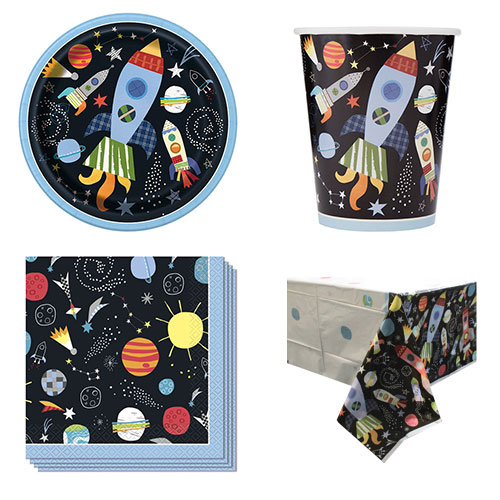 Outer Space 8 Person Value Party Pack