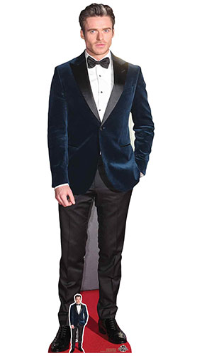 Richard Madden Blue Velvet Jacket Lifesize Cardboard Cutout 179cm Product Gallery Image