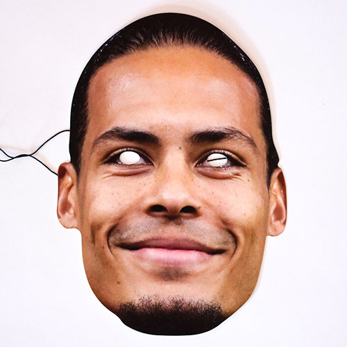 Virgil Van Dijk Cardboard Face Mask