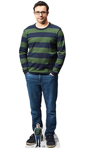 Adam Friday Night Dinner Simon Bird Lifesize Cardboard Cutout 168cm Product Gallery Image