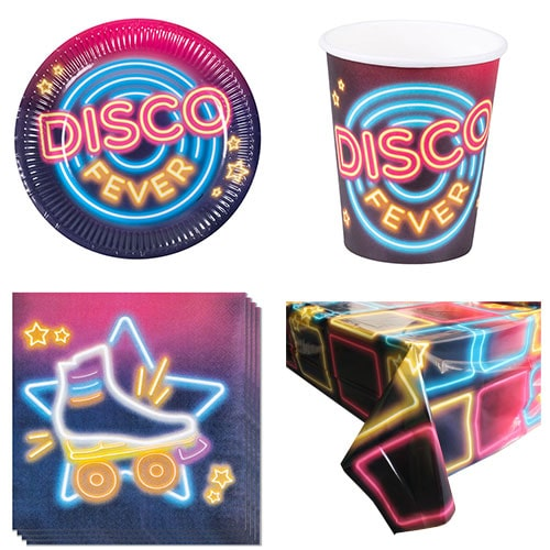 Disco Fever 6 Person Value Party Pack