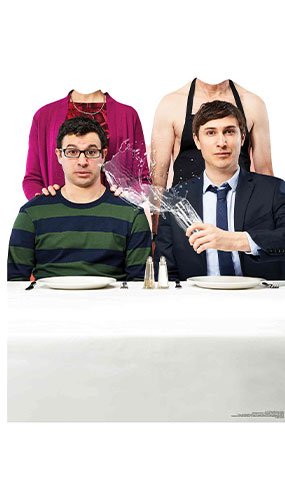 Jonny Adam Martin Jackie Friday Night Dinner Stand In Lifesize Cardboard Cutout 118cm Product Gallery Image