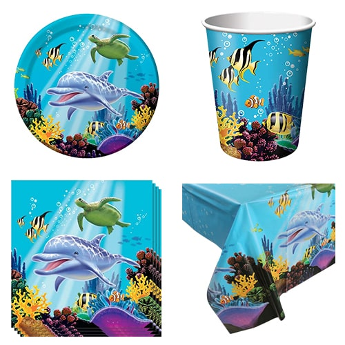 Ocean Theme 8 Person Value Party Pack