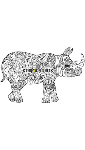 Rhino Design Colour Craft Star Mini Cardboard Cutout 93cm