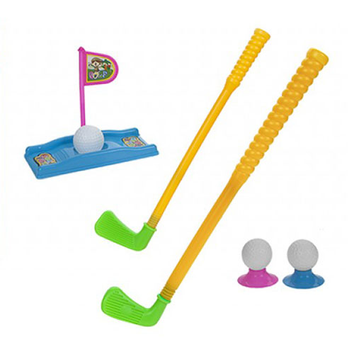 Junior Golf Clubs with Balls and Tees Set Product Image