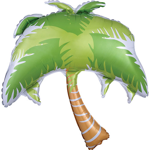 Summer Scene Palm Tree Helium Foil Giant Balloon 83cm / 33 in