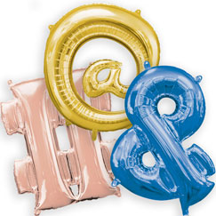 Symbol Balloons