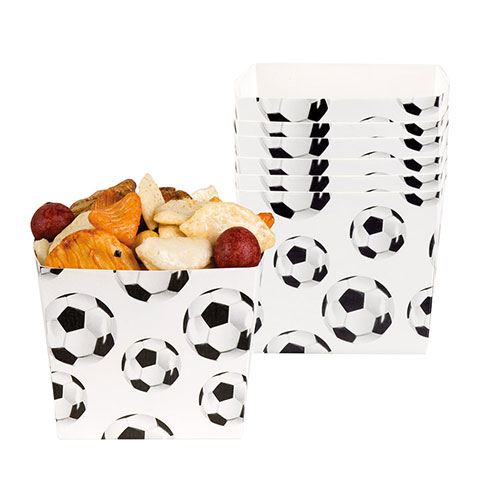 Football Paper Bowls 40cl - Pack of 6