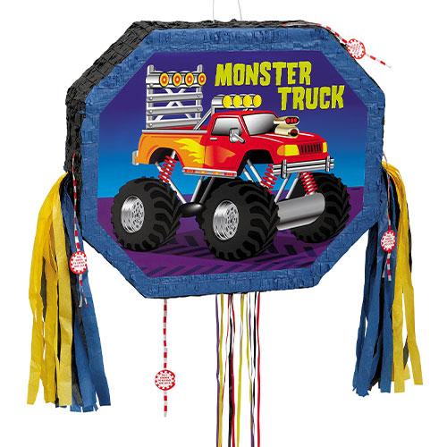 Monster Truck Pull String Pinata