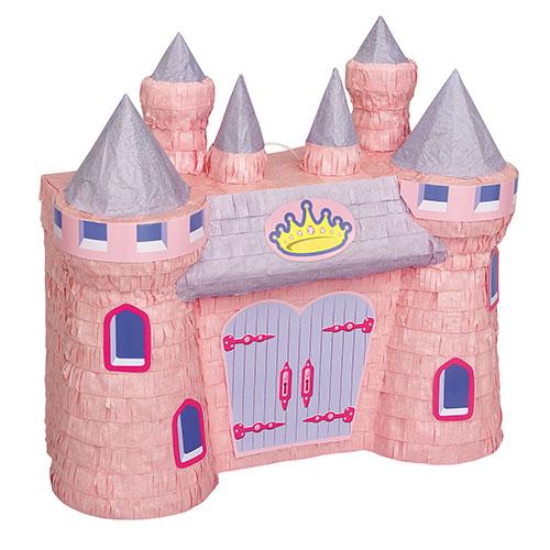 Princess Pink Castle 3D Standard Pinata