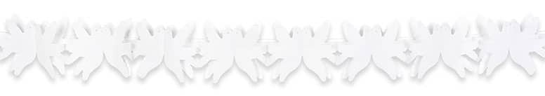 Wedding Dove Paper Garland Decoration 4m