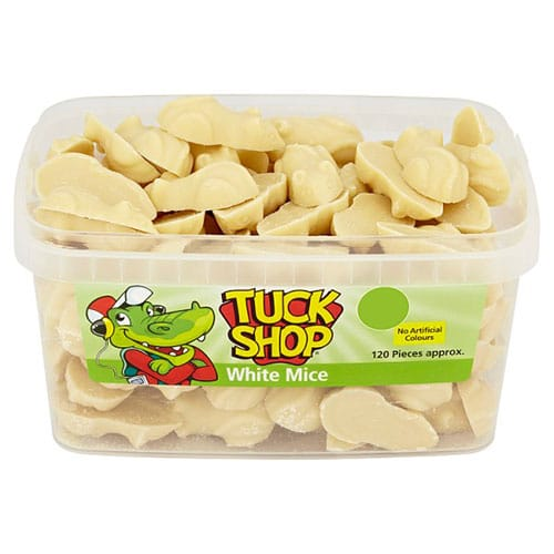 White Chocolate Mice Sweets - Pack of 120