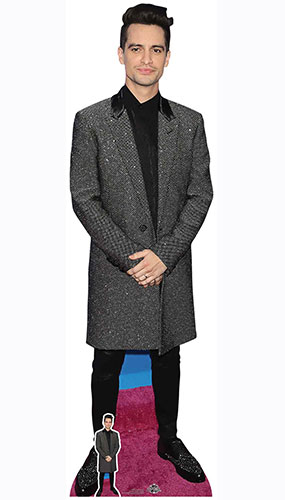 Brendon Urie Lifesize Cardboard Cutout 178cm Product Gallery Image